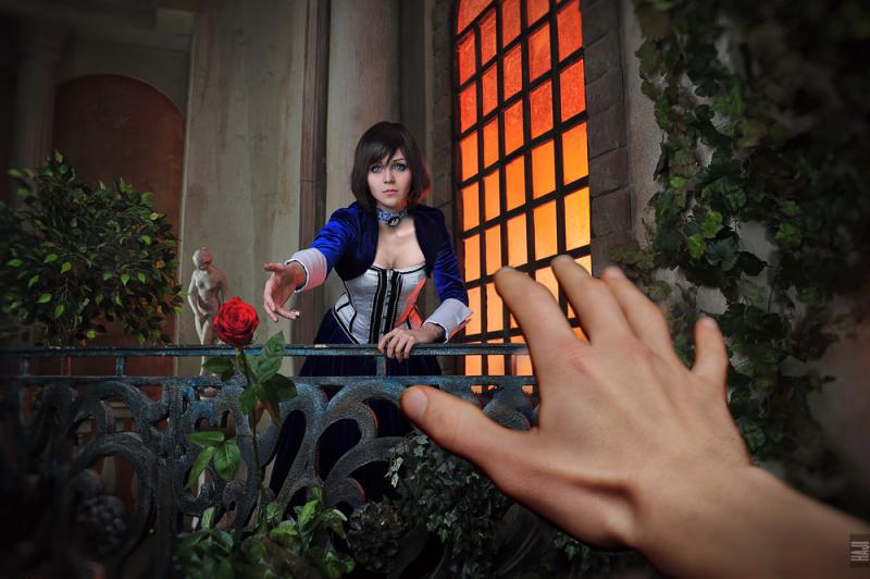 cospl screenshoot BioShock Infinite