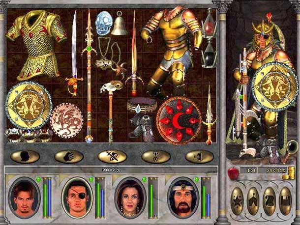 Традиционный разрыв шаблона от Джона Ван Кэнегема: оружие Древних – бластер. К элементам sci-fi обращались все игры серии, но это только добавляло им таинственности.