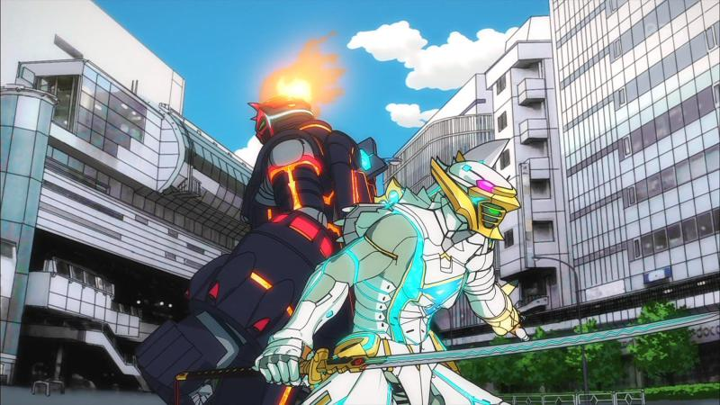 Gatchaman fight