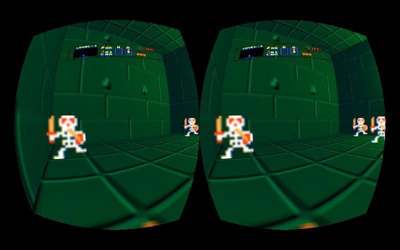 Zelda VR Skeletons