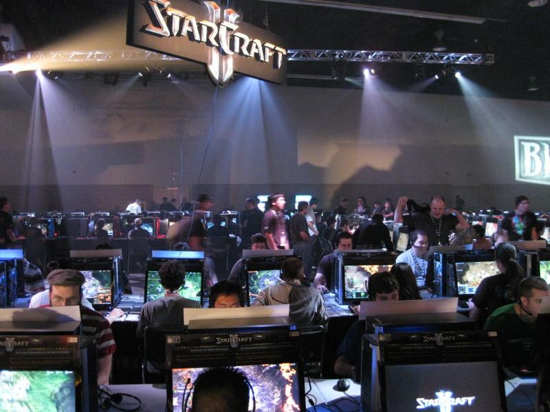 starcraft lan