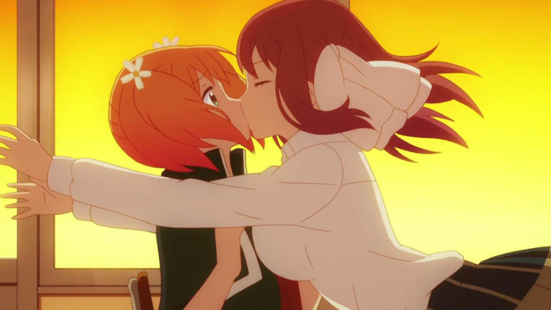 Sakura Trick kiss