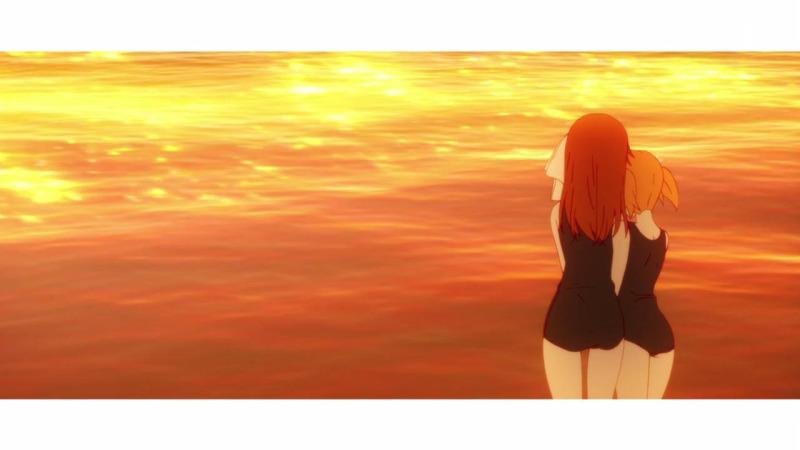 Sakura Trick sunset