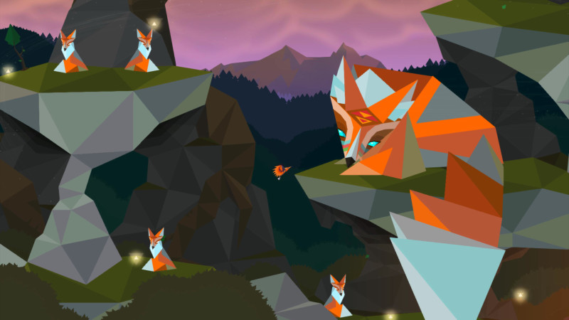 Secrets of Raetikon foxes