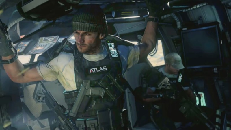frame from trailer Call of Duty Advanced Warfare