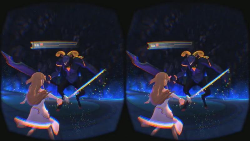 Playing Sword Art Online