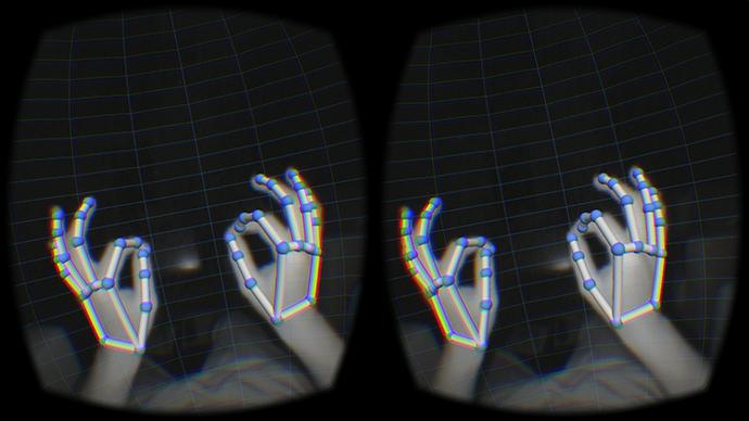 Leap Motion в виртуальности