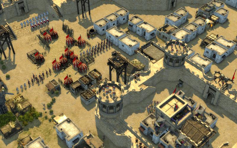 stronghold crusader 2 city