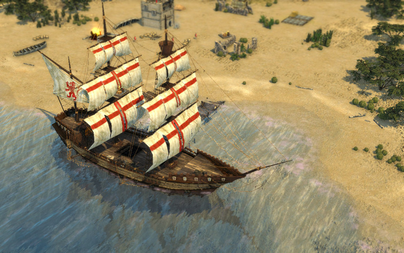 stronghold crusader 2 ship