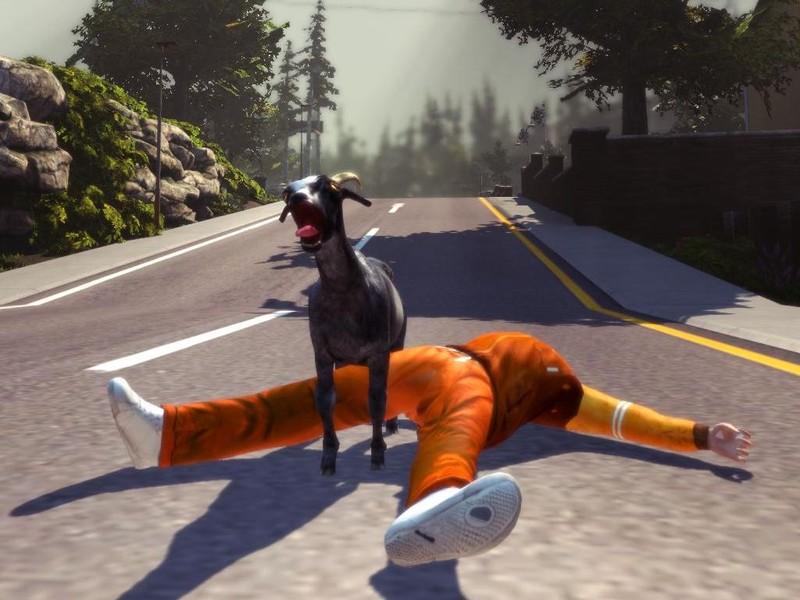 Xbox simulator goat