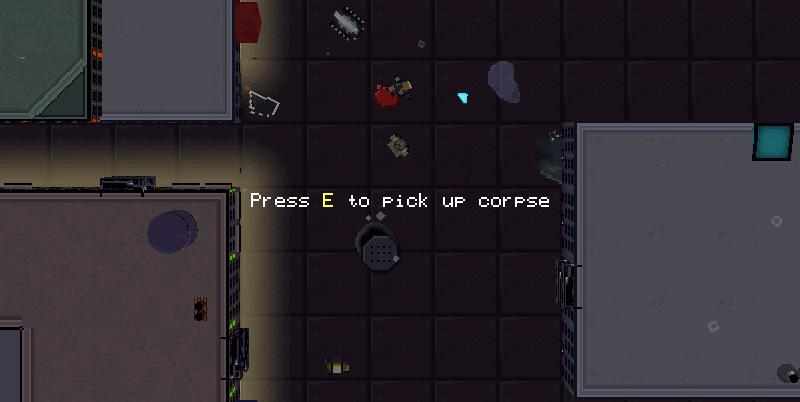 press e to pick up a corpse