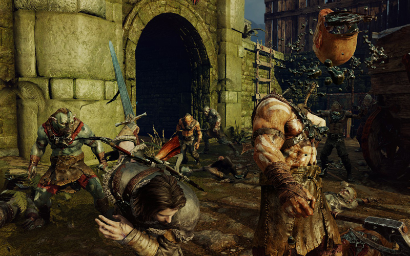shadow of mordor battle