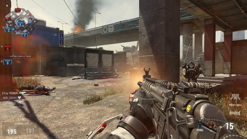 Редкий скриншот мультиплеера обходится без разборок в чате. В этом весь Call of Duty