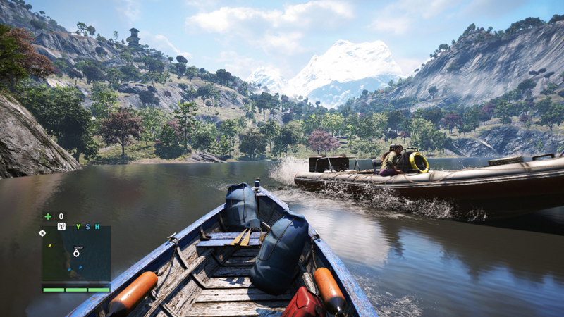 far cry 4 boats