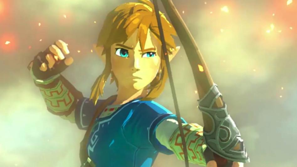 The Legend of Zelda Wii U Gameplay