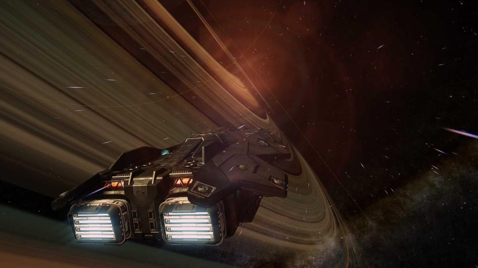 elite space track simulator