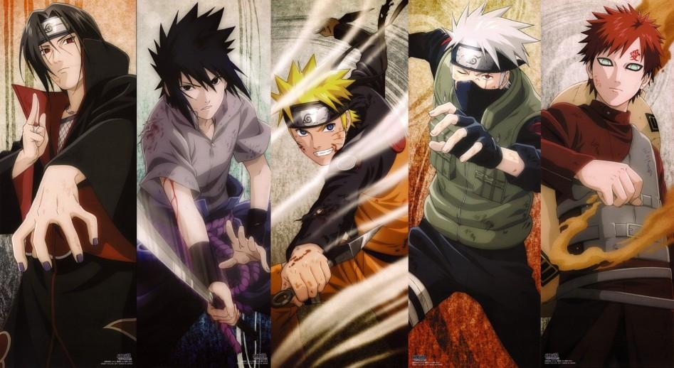 Один из популярнейших аниме-сериалов Японии, Naruto.