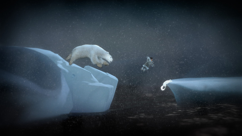 never alone bear