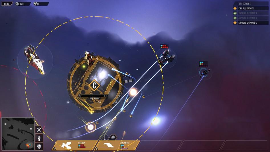 Distant Star Revenant Fleet base