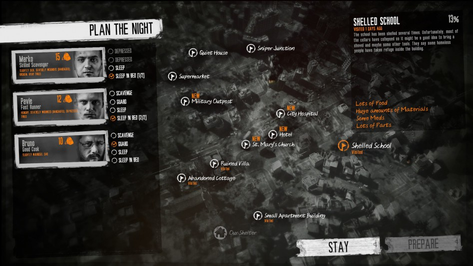 this war of mine map
