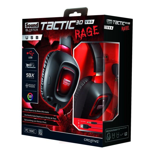 Tactic3D Rage usb v2