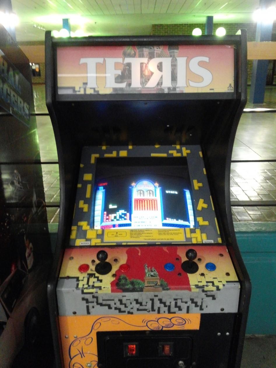 Tetris mashine