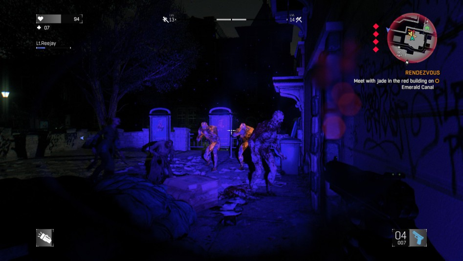dying light night chase