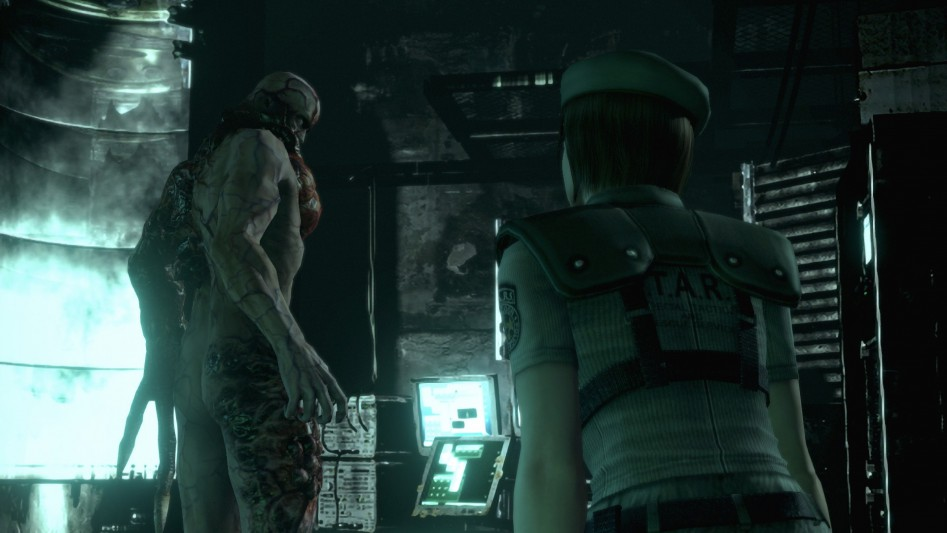 resident evil hd remaster lab