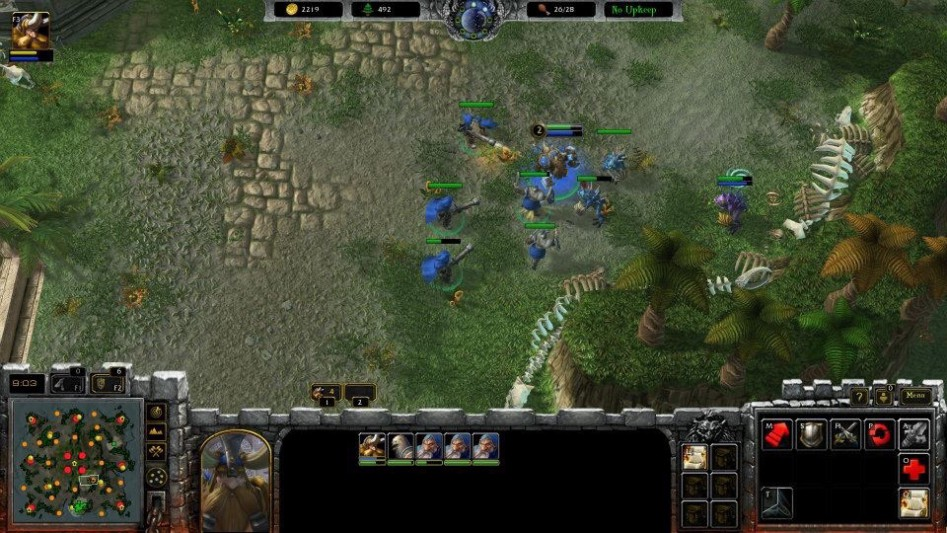 Warcraft Armies of Azeroth in SC2