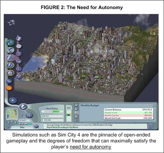 Показатель второй: потребность в автономии
