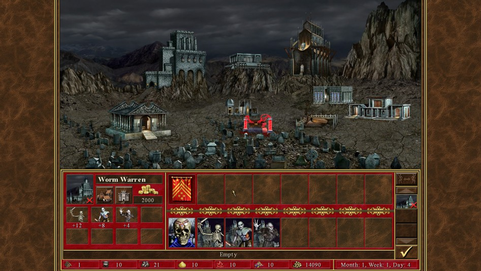 heroes of might and magic iii hd castle