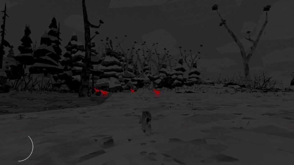 Особое зрение рыси подсвечивает всю дичь в округе