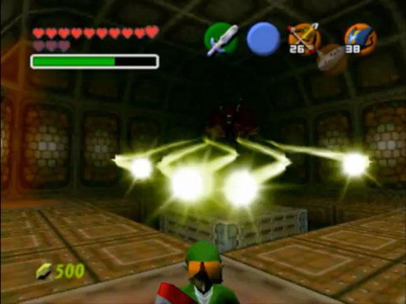 Пять снарядов отбивать куда сложнее, чем один. В большинстве случаев игрок будет получать урон при таких попытках. Таким образом его призывают уклоняться от атак.