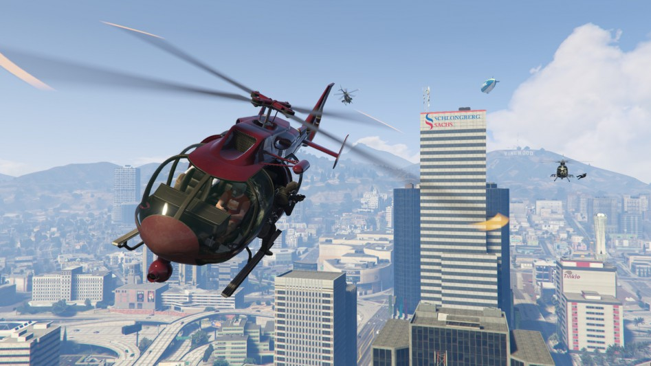 grand theft auto v pc helicopter