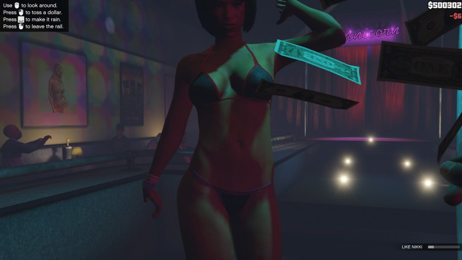 grand theft auto v pc strip club