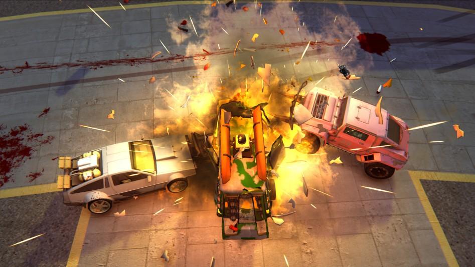 Carmageddon DeLorean DMC-12