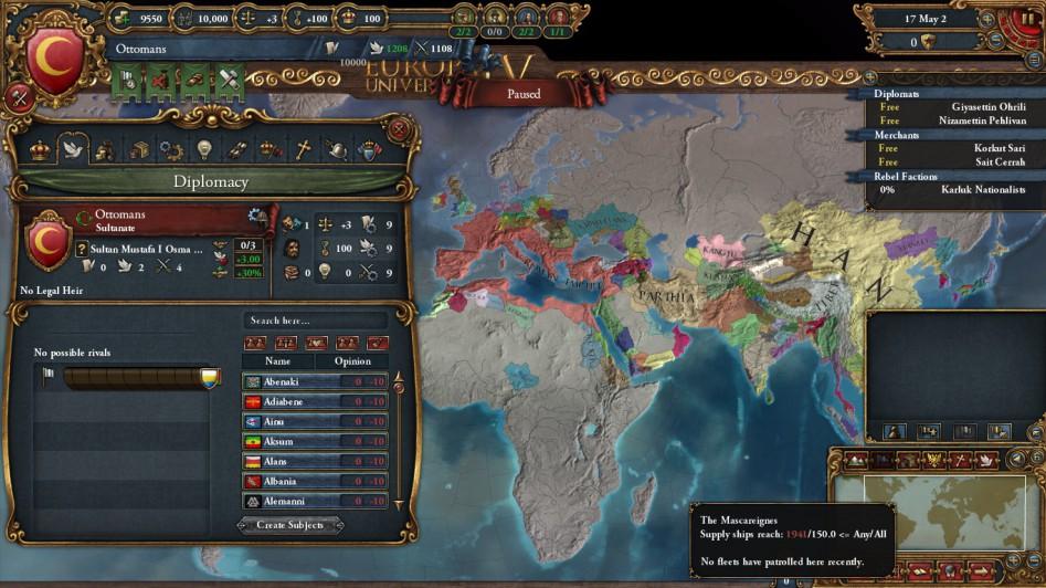 Diplomacy eu4