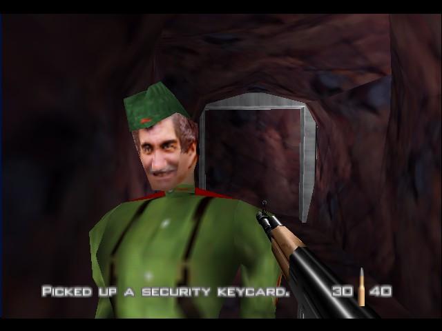 Goldeneye для N64