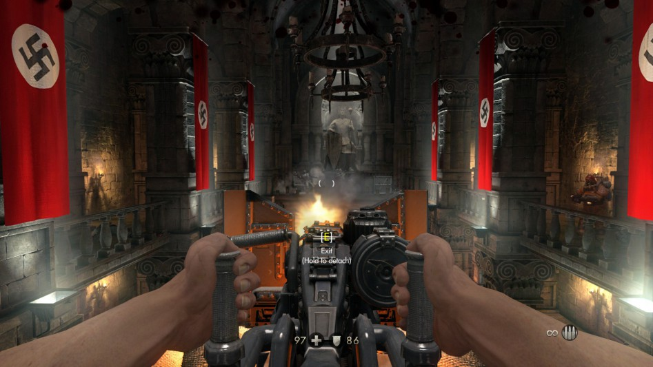 wolfenstein the old blood mg