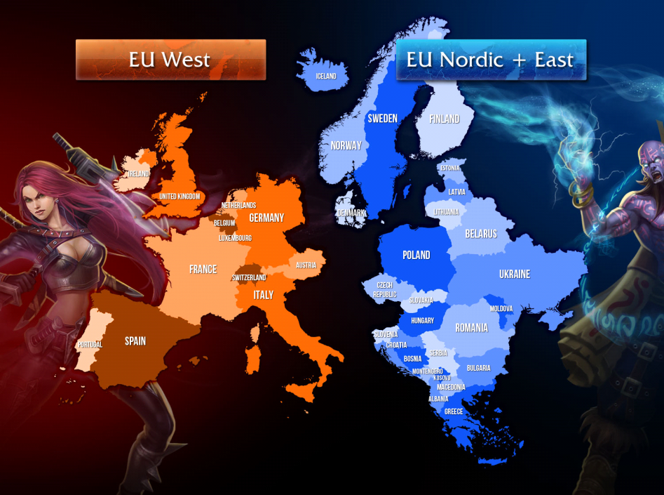 European Servers