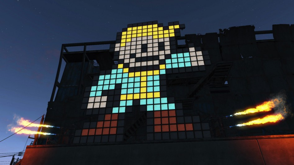 fallout 4 vault boy light