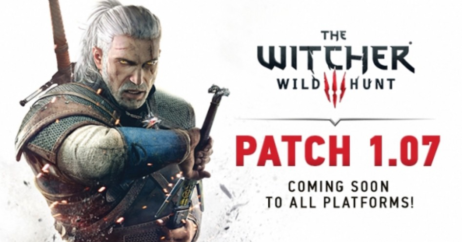 Witcher 3 patch 107