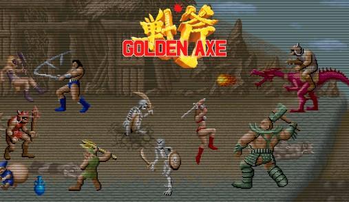 golden axe retro