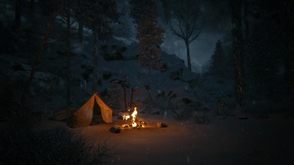 К палаткам всегда можно вернуться за внеочередным сохранением.