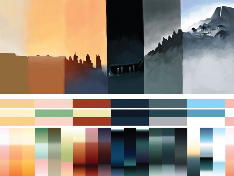 journey colors