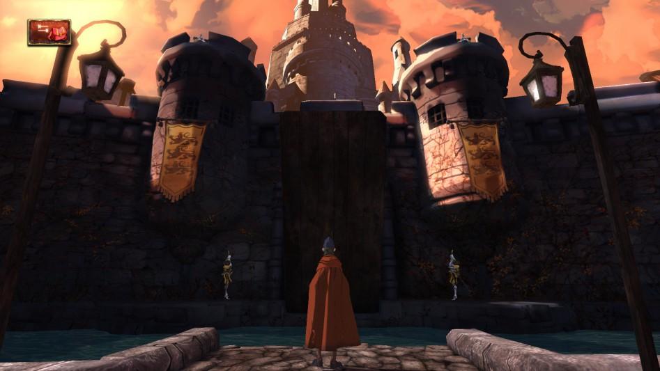В замок нас на этот раз не пустят, но поглазеть дадут.