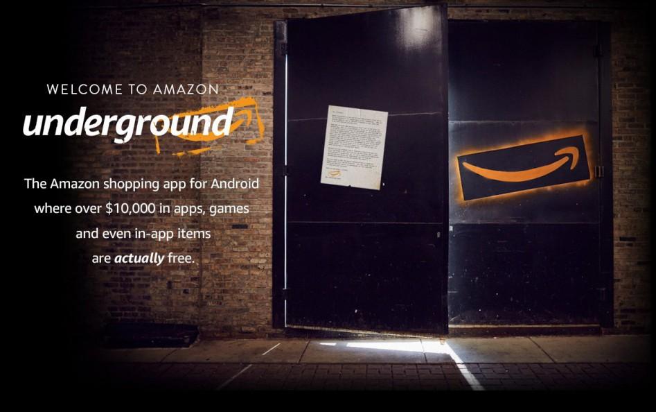 underground amazon