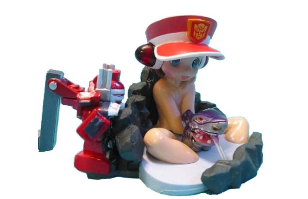 Transformers figurine