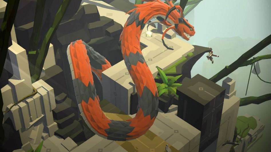 lara croft snake