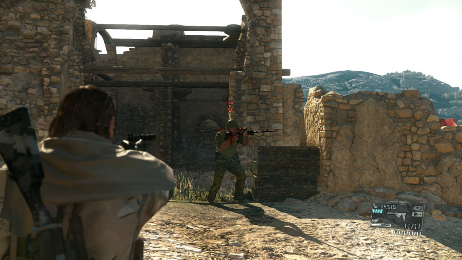 Афганская ничья. Через секунду снайпер бросит оружие, словно его застали врасплох.